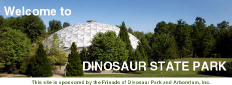 Welcome to Dinosaur State Park