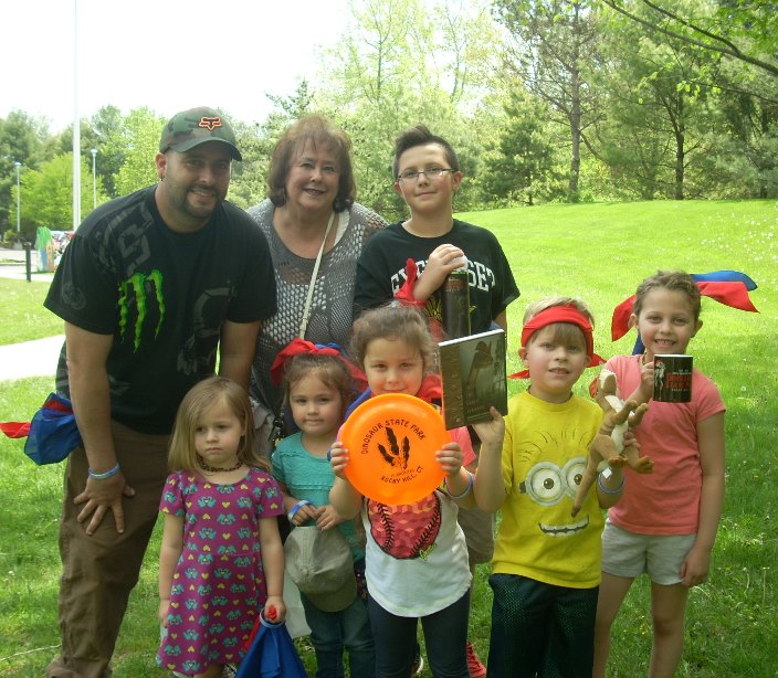 family participants at Trail Days